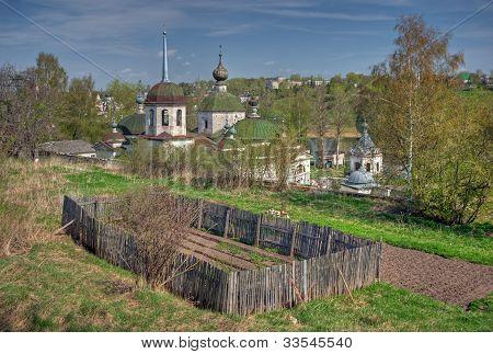 View of Staritsa town