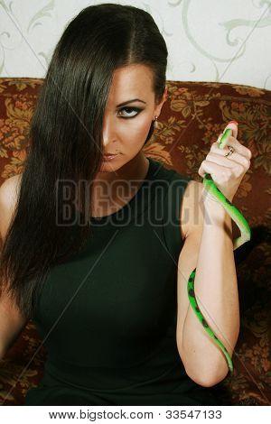 envious woman