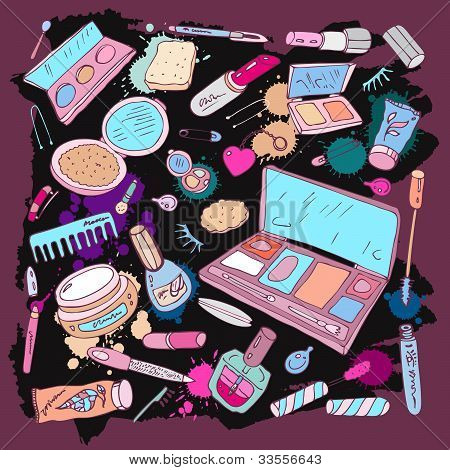 Products for make upand beauty