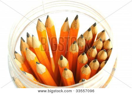 Pot Of Pencils