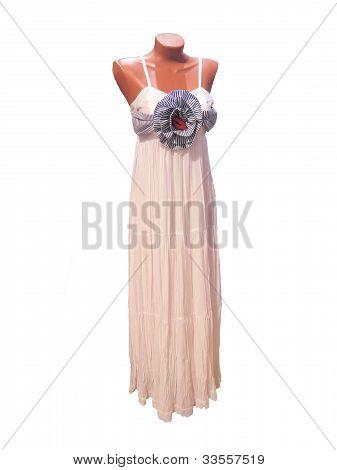 in einem Kleid von Dummy.