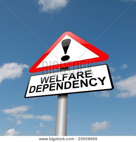 Dependencia de bienestar.