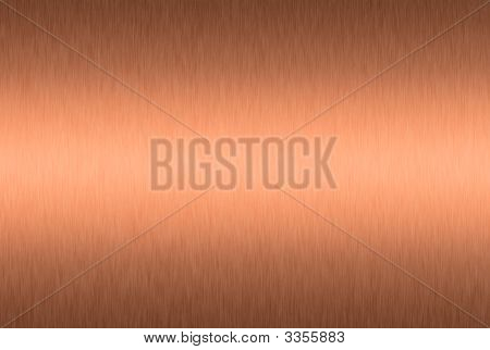 Brushed Copper Plate