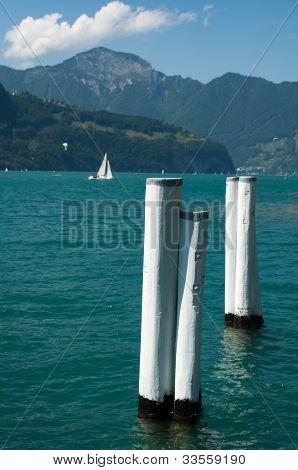 Sailing In Lake Lucerne