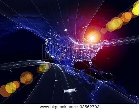 Metaphorical Information Highway