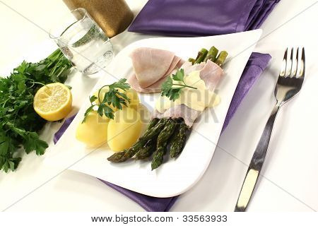 Asparagus With Potatoes