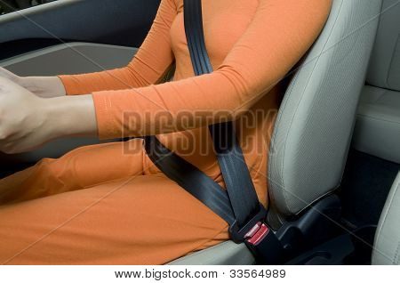 Wearing Safety Belt