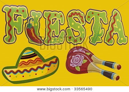 Fiesta Or Party In Spanish