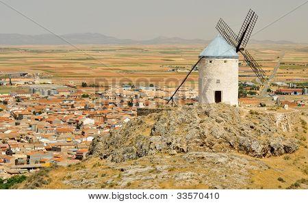 Windmill of Consuegra, Castilla-La Mancha, Spain