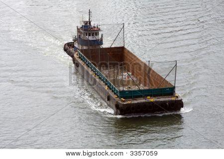 Garbage Transport Ship