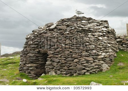 Beehive Huts In Ireland