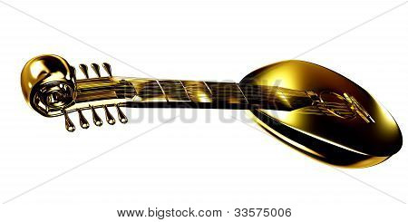 Gold lute