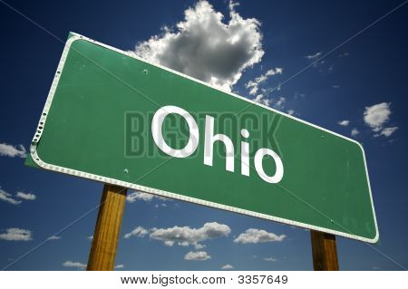 Ohio Road Sign