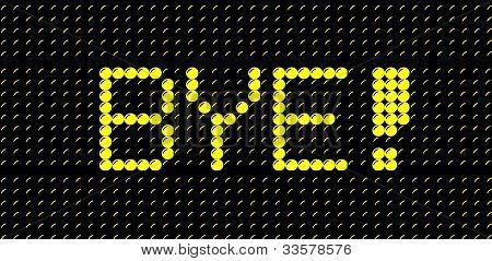 bye sign