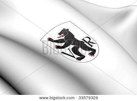 Appenzell Ausserrhoden Coat Of Arms, Switzerland.