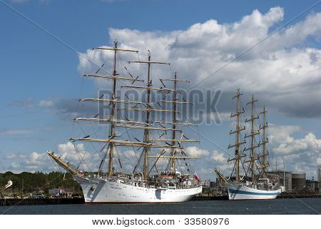 Tall Ships in Denmark