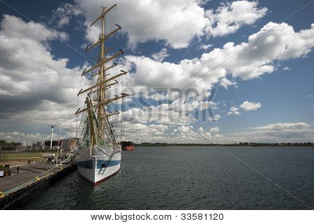 Open Harbor and Tall Ships