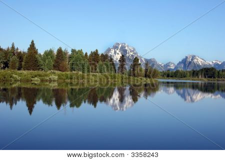 Snake River In The Grand Tetons