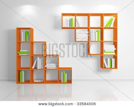 Modern shelf.