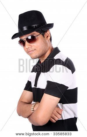 Stylish Young Indian Guy