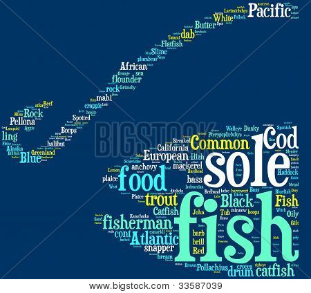 fishing symbol tag cloud