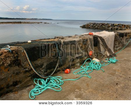 Drying Fishing Nets