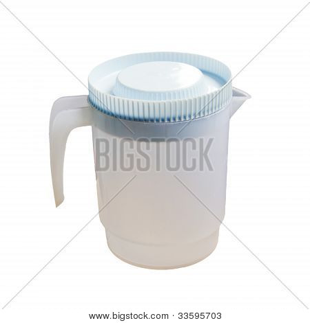 Plastic Pitcher.