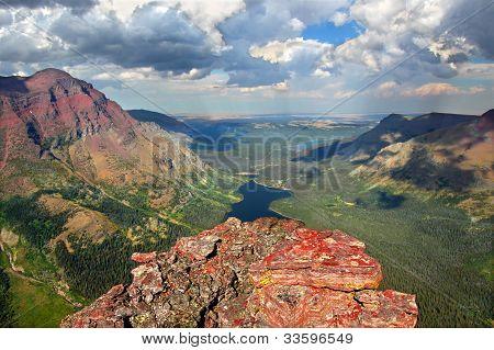 Glacier Park Alpine Scenery