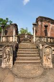 Entrance To The Old Vatadage From 12Th Centory At The Kings Palace In Pollonnaruwa