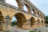 Pont Du Gard Is The Tallest Aqueduct And Bridge poster
