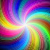 Abstract Brightly Colored Pink Yellow Green Blue Palette Spectrum Of Colors. Rainbow Multicolored Sw poster