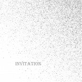 Abstract Background With Silver Glitter On A White Background . Suitable For The Design Of Brochures poster