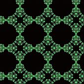 Seamless Green Pattern