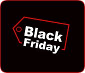 Black Friday Sale Inscription Design Template. Black Friday Sale Offer. Creative Concept For Black F poster