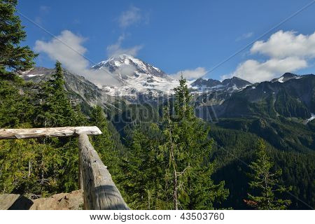 Spray Park Trail, Mt. Rainier National Park