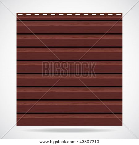 Siding Texture Panel Brown Color