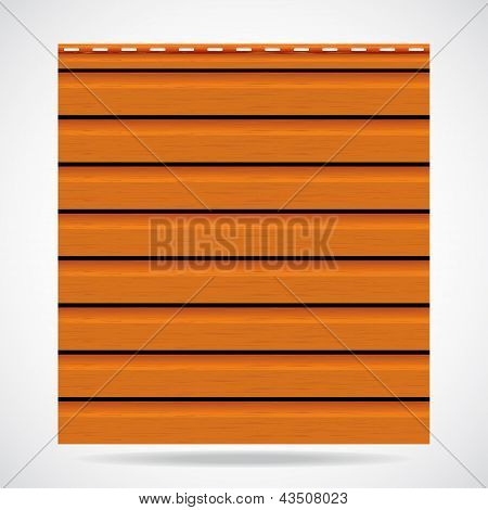 Siding Texture Panel Orange Color