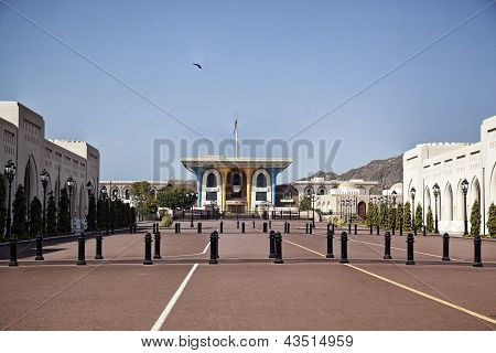 Sultan's Palace In Oman