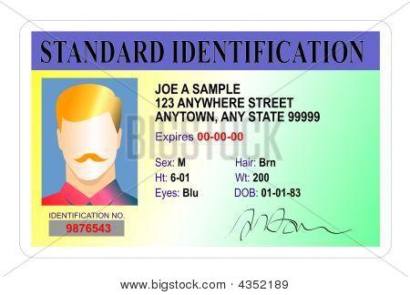 Standard Id Card