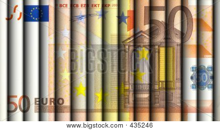 Fifty Euro Bill