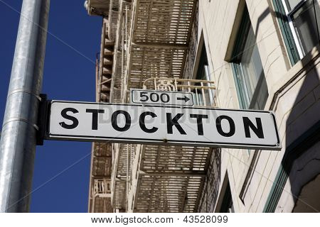 Stockton Street, San Francisco, Estados Unidos