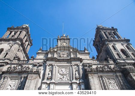 Mexico City Cathedral, Zocalo, Mexico