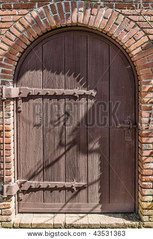 Vintage Weathered Door