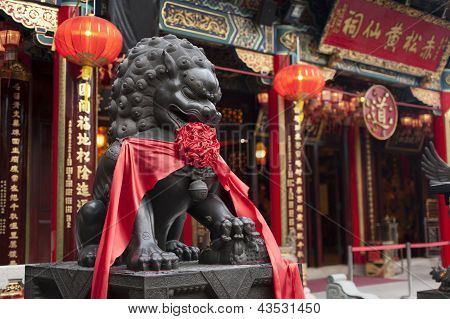 Wong Tai Sin Temple in Hong Kong