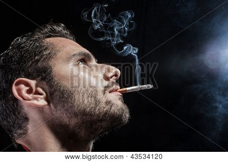 Smoking At Night