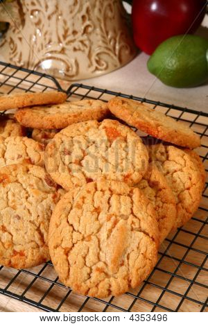Peanut Brittle Candy Cookies