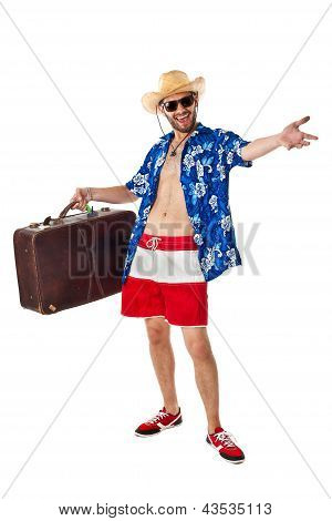 Confident Tourist