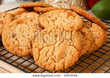 Peanut Brittle Chip Cookies