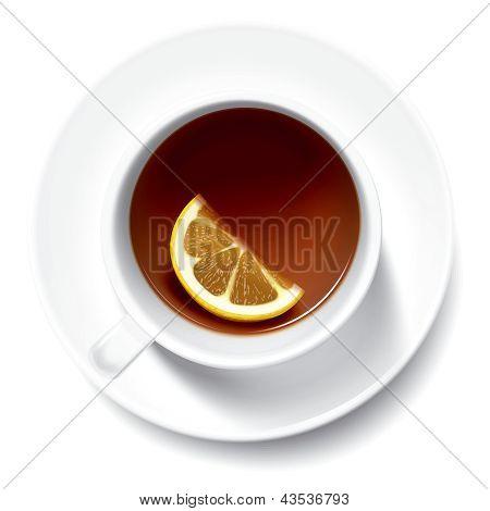 Tea with limon