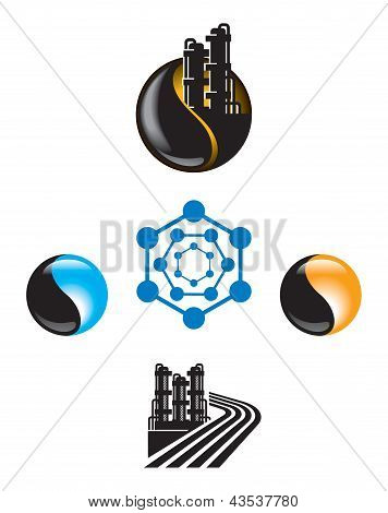 Emblem for Oil and Gas industry